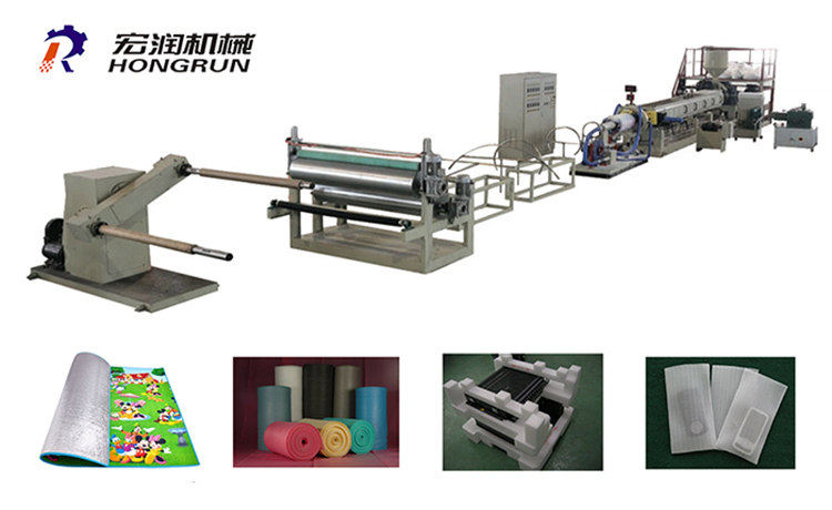 Products / EPE Foam Machine / EPE Foam Sheet Extrusion