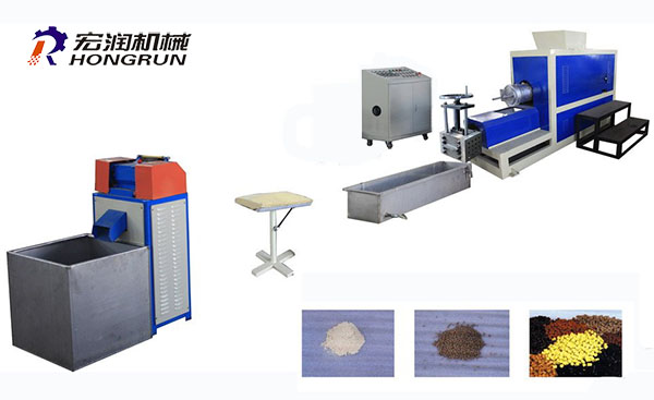PE Foam Material Recycling Machine